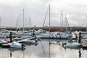 The yacht club at Figueira da Foz, Portugal