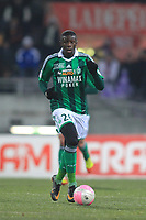 FOOTBALL - FRENCH CHAMPIONSHIP 2011/2012 - L1 - TOULOUSE FC v AS SAINT ETIENNE - 12/02/2012 - PHOTO MANUEL BLONDEAU / DPPI - BAKARY SAKO
