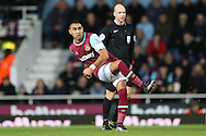 Dimitri Payet of West Ham United in action.  The Emirates FA cup, 3rd round match, West Ham Utd v Wolverhampton Wanderers at the Boleyn Ground, Upton Park  in London on Saturday 9th January 2016.<br /> pic by John Patrick Fletcher, Andrew Orchard sports photography.