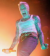 Prodigy  Live at Wembly Arena <br />Keith Flint <br />Pix Dave Nelson