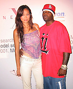 Audrey Quock & Treach of Naugh by Nature.Next Model Search.Serafina Restaurant.New York, NY.August 14, 2001.Photo by Celebrityvibe.com..