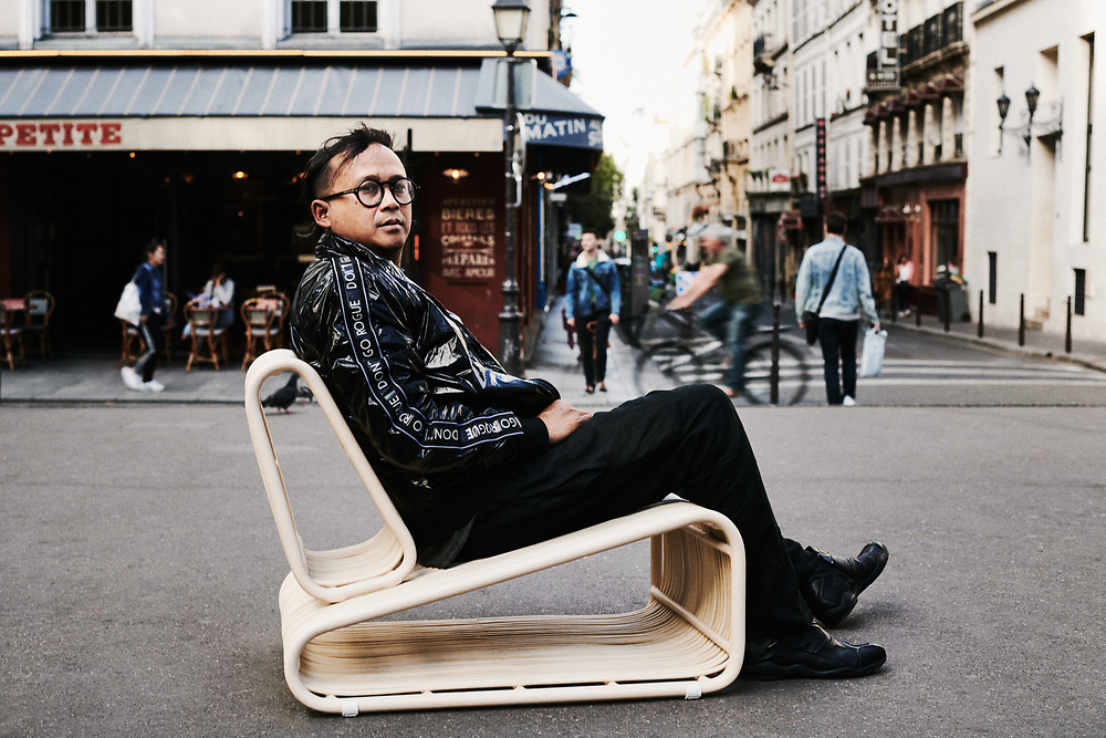 Budi Pradono. Paris, France. September 11, 2019.