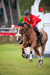 Postelmans Peter (BEL) - Top Gun<br /> Longines Falsterbo Grand Prix<br /> Falsterbo Horse Show 2009<br /> © Hippo Foto - Leanjo de Koster