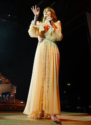 Florence Welch of Florence And The Machine performs on 16 November 2018 at Genting Arena in Birmingham, England. Picture date: Friday 16 November, 2018. Photo credit: Katja Ogrin/ EMPICS Entertainment.