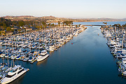East Basin Marina in Dana Point Harbor Looking South