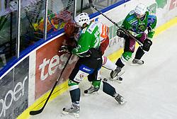 Nejc Berlisk of Tilia Olimpija at 6th Round of ice-hockey Slovenian National Championships match between HDD Tilia Olimpija and HK Acroni Jesenice, on April 2, 2010, Hala Tivoli, Ljubljana, Slovenia.  Acroni Jesenice won 3:2 after overtime and became Slovenian National Champion 2010. (Photo by Vid Ponikvar / Sportida)