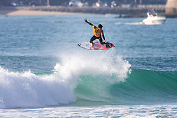 2014 World Champion and current Jeep Leader Gabriel Medina (BRA) is eliminated from the 2018 MEO Rip Curl Pro Portugal with an equal 3rd finish after placing second in Semifinal Heat 1 in Peniche, Portugal.