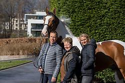 Ann-Sophie Godart, Hérica Ravel, Hemeryck Rik, BEL, Ulyss Morinda<br /> Haras de Lauzelle - Wavre 2021<br /> © Hippo Foto - Dirk Caremans<br /> 15/03/2021