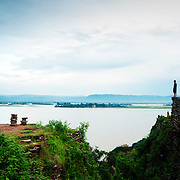 View from the top of Mingon temple
