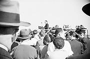 Portland airport dedication ceremony on October 13, 1940.