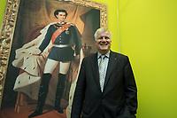 """11 MAY 2012, BERLIN/GERMANY:<br /> Horst Seehofer, CSU, Ministerpraeisdent Bayern, eroeffnet die Ausstellung """"Goetterdaemmerung - Koenig Ludwig II. und seine Zeit"""", Bundesrat<br /> IMAGE: 20120511-02-022"""