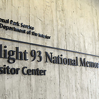 On the 14th anniversary of the terrorist attack and the crash of United Flight 93  the Flight 93 National Memorial Visitor Center opens to the public  near Shanksville, Pennsylvania on September 10, 2015.  UPI/Archie Carpenter