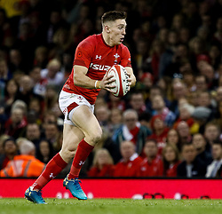 Josh Adams of Wales<br /> <br /> Photographer Simon King/Replay Images<br /> <br /> Under Armour Series - Wales v Australia - Saturday 10th November 2018 - Principality Stadium - Cardiff<br /> <br /> World Copyright © Replay Images . All rights reserved. info@replayimages.co.uk - http://replayimages.co.uk
