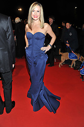 AMANDA HOLDEN at the Battersea Dogs & Cats Home Collars & Coats Gala Ball held at Battersea Evolution, Battersea Park, London SW8 on 8th November 2012.