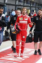 July 15, 2017 - Silverstone, Great Britain - Motorsports: FIA Formula One World Championship 2017, Grand Prix of Great Britain, .#5 Sebastian Vettel (GER, Scuderia Ferrari) (Credit Image: © Hoch Zwei via ZUMA Wire)