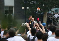 Cristiano Ronaldo in Beijing, China - 19 July 2018