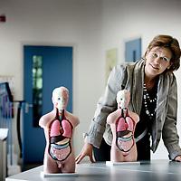 Nederland, Alkmaar , 9 augustus 2010..Mevrouw Eckenhausen, directeur van het Fooreest Instituut in Alkmaar..Foto:Jean-Pierre Jans