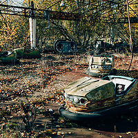The Town of Prypiat , Pripiat near Chernobyl in Ukraine - the site of the 1986 explosion at the Nuclear plant - the town of Prypiat was evacuated within 24 hours with 46,000 people having to vacate their homes and leave their possessions . They have never returned.