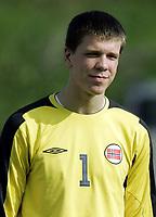 Fotball / Football<br /> International U 17 Team Tournament<br /> Norge v Polen 3-1<br /> Norway v Poland 3-1at La Manga - Spain<br /> Poland played in Norways white changing shirts<br /> 05.02.2007<br /> Foto: Morten Olsen, Digitalsport<br /> <br /> Portretter Polen / Portraits Poland<br /> <br /> Wojciech Szczesny - Arsenal