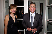 Viscount and Viscountess Astor, Hot Ice party hosted by Dominique Heriard Dubreuil and Theo Fennell, ( Remy Martin and theo Fennell) at 35 Belgrave Sq. London W1. 26 October 2004. ONE TIME USE ONLY - DO NOT ARCHIVE  © Copyright Photograph by Dafydd Jones 66 Stockwell Park Rd. London SW9 0DA Tel 020 7733 0108 www.dafjones.com