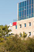 3M logo on the offices in Ramat HaHayal, Tel Aviv, Israel