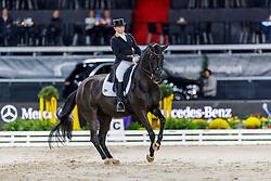 WERTH Isabell (GER), Weihegold OLD<br /> Stuttgart - German Masters 2019<br /> PREIS DER FIRMA ABELEIN EVENT SERVICE<br /> FEI Dressage World Cup Grand Prix <br /> Int. Dressurprüfung - CDI-W<br /> Qualifikation zur Grand Prix Kür<br /> 15. November 2019<br /> © www.sportfotos-lafrentz.de/Stefan Lafrentz