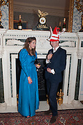 MATHEW BELL; SASHA GALITZINE; , Tatler magazine Jubilee party with Thomas Pink. The Ritz, Piccadilly. London. 2 May 2012