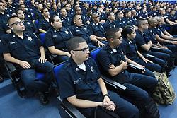 April 29, 2019 - 2019. 04. 29. Cadetes comienzan su adiestramiento en la Academia de la Policia. (Credit Image: © El Nuevo Dias via ZUMA Press)