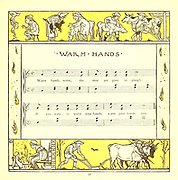Warm Hands From the Book '  The baby's opera : a book of old rhymes, with new dresses by Walter Crane, and Edmund Evans Publishes in London and New York by F. Warne and co. in 1900