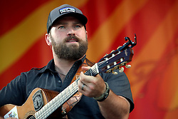 04 May 2012. New Orleans, Louisiana,  USA. .New Orleans Jazz and Heritage Festival. .Zac Brown of the Zac Brown Band..Photo; Charlie Varley.