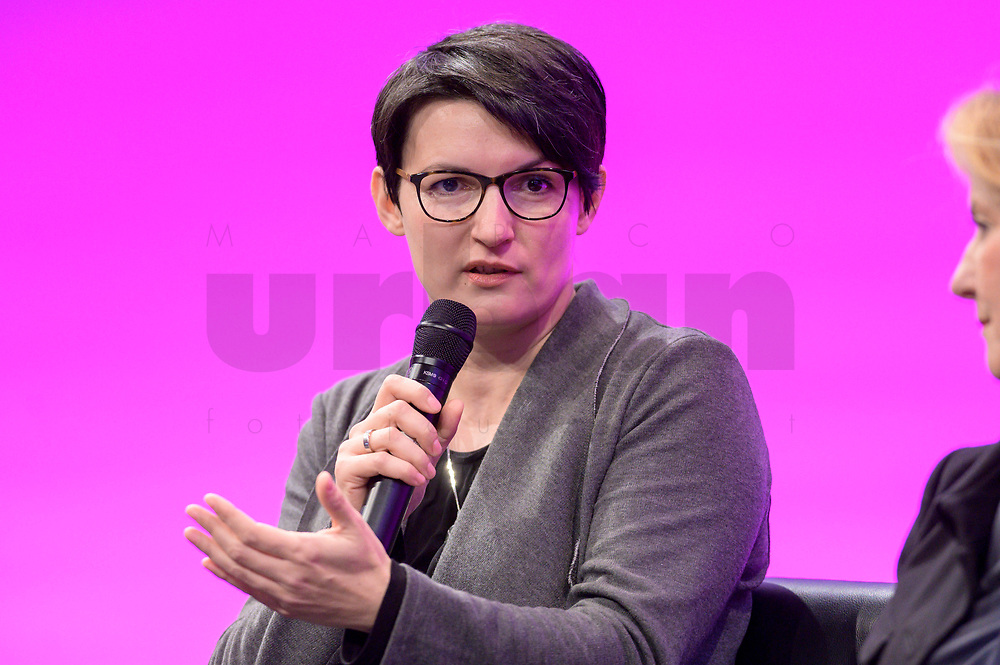 07 JAN 2020, KOELN/GERMANY:<br /> Irene Mihalic, MdB, B90/Gruene, dbb Jahrestagung, Koeln Messe<br /> IMAGE: 20200107-01-0557