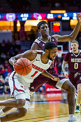 NORMAL, IL - January 07: Dedric Boyd during a college basketball game between the ISU Redbirds and the University of Missouri State Bears on January 07 2020 at Redbird Arena in Normal, IL. (Photo by Alan Look)