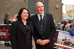 Mark Adams (EIFF Artistic Director) and Diane Henderson (Deputy Artistic Director) at the Edinburgh International Film Festival Opening Night Gala opens with the UK  Premier of God's Own Country directed by Francis Lee at Edinburgh's Festival Theatre. Wednesday 21st June 2017(c) Brian Anderson | Edinburgh Elite media