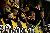 Fotball, <br /> Kvalifisering UEFA Europa League 28.07.2011  ,<br /> Aalesund v if elfsborg 4-0<br /> Supportere depper etter 3-0<br /> elfsborg supportere<br /> Foto: Richard brevik , Digitalsport
