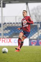 Remy DUGIMONT - 24.01.2015 - Clermont / Chateauroux  - 21eme journee de Ligue2<br />Photo : Jean Paul Thomas / Icon Sport