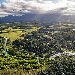 """""""Aérea de Guarapari (Paisagem) fotografado em Guarapari, município do estado do Espírito Santo -  Sudeste do Brasil. Bioma Mata Atlântica. Registro feito em 2018.<br /> ⠀<br /> ⠀<br /> <br /> <br /> <br /> ENGLISH: Guarapari City Aerial photographed in Guarapari, in Espírito Santo - Southeast of Brazil. Atlantic Forest Biome. Picture made in 2018."""""""