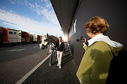 Team Spain<br /> Departure of the horses to the Rio Olympics from Liege Airport - Liege 2016<br /> © Hippo Foto - Dirk Caremans<br /> 30/07/16