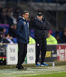Brighton and Hove Albion Manager, Chris Hughton - Photo mandatory by-line: Paul Knight/JMP - Mobile: 07966 386802 - 10/02/2015 - SPORT - Football - Cardiff - Cardiff City Stadium - Cardiff City v Brighton & Hove Albion - Sky Bet Championship