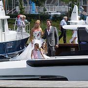 NLD/Huizen/20120707 - Huwelijk Jeroen Nieuwenhuize en Kayla Borderveld,
