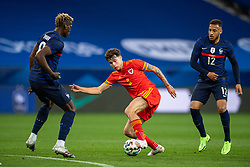 NICE, FRANCE - Wednesday, June 2, 2021: Wales' Neco Williams during an international friendly match between France and Wales at the Stade Allianz Riviera ahead of the UEFA Euro 2020 tournament. (Pic by Simone Arveda/Propaganda)