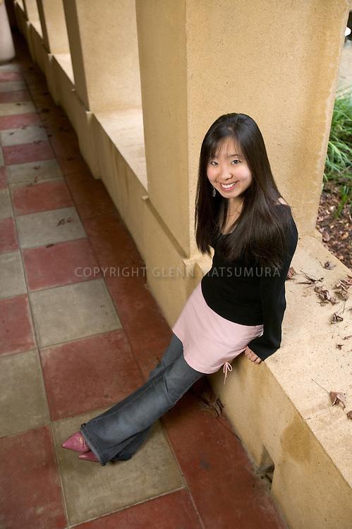 Stanford transfer student, Carolyn Chiang