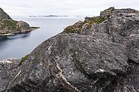 Norway, Trondelag. Sunnskjor, a small community in Stokksund.