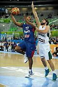 DESCRIZIONE : Lubiana Ljubliana Slovenia Eurobasket Men 2013 Second Round Lituania Francia Lithuania France<br /> GIOCATORE : Boris Diaw<br /> CATEGORIA : tiro shot<br /> SQUADRA : Francia France<br /> EVENTO : Eurobasket Men 2013<br /> GARA : Lituania Francia Lithuania France<br /> DATA : 11/09/2013 <br /> SPORT : Pallacanestro <br /> AUTORE : Agenzia Ciamillo-Castoria/H.Bellenger<br /> Galleria : Eurobasket Men 2013<br /> Fotonotizia : Lubiana Ljubliana Slovenia Eurobasket Men 2013 Second Round Lituania Francia Lithuania France<br /> Predefinita :