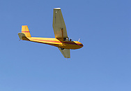 Middletown, N.Y. - A glider soars above Randall Airport on Oct. 8, 2006. ©Tom Bushey