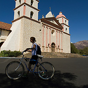 The Santa Barbara Mission is a major attraction for the region.
