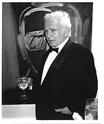 Norman Mailer,New York, 1989© Copyright Photograph by Dafydd Jones 66 Stockwell Park Rd. London SW9 0DA Tel 020 7733 0108 www.dafjones.com