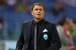 August 20, 2017 - Rome, Italy - Leonardo Semplici Manager of Spal at Olimpico Stadium in Rome, Italy on August 20, 2017. (Credit Image: © Matteo Ciambelli/NurPhoto via ZUMA Press)