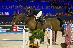 Whitaker John, GBR, Leen O.L.<br /> Jumping Amsterdam 2018<br /> © Sharon Vandeput<br /> 26/01/18