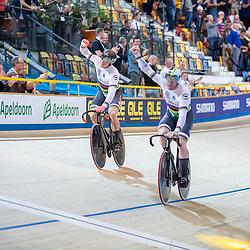 16-10-2019: Wielrennen: EK Baanwielrennen: Apeldoorn<br />Nederland paktr de europese titel op de teamsprint