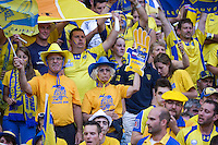 supporters Clermont  - 13.06.2015 - Clermont / Stade Francais - Finale Top 14<br />Photo : Nolwenn Le Gouic / Icon Sport